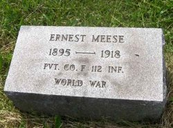 Pvt Ernest Meese