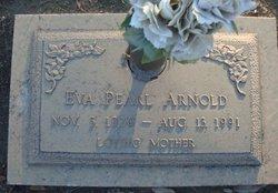 Eva Pearl <i>Peveto</i> Arnold