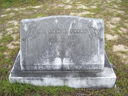 Ruth <i>Clements</i> Anderson