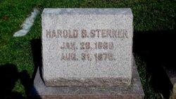 Harold B Sterner