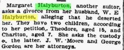 Margrett C. <i>Slagle</i> Halyburton