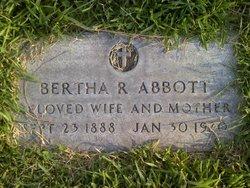 Bertha R. Abbott