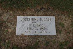 Josephine <i>Buck</i> Bass