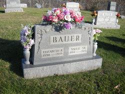 Elizabeth Rebecca Lizzie <i>Durst</i> Bauer