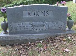 Mary <i>Cannon</i> Adkins