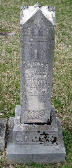 Mary Elizabeth <i>Henderson</i> Andes