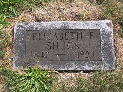 Elizabeth Frances <i>Gilmore</i> Shuck