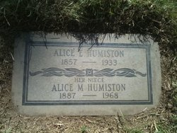 Alice Eliza Humiston