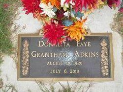 Donalita Faye <i>Grantham</i> Adkins