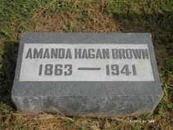 Amanda Aurora Clare Mandy <i>Hagan</i> Brown