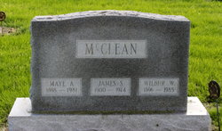 Maye A <i>Davisson</i> McClean