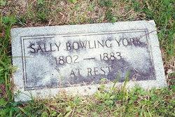 Sarah Sary <i>Bowling</i> York