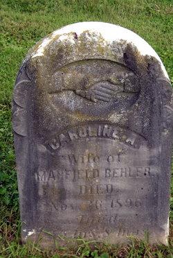 Caroline A Behler