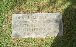 Dessie M. <i>Wellons</i> Betts