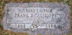 Francesco Giuseppe Frank Joseph Cassioppi