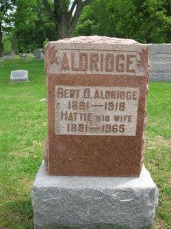 Bert O Aldridge