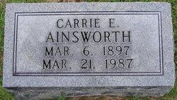 Carrie Elizabeth Ainsworth