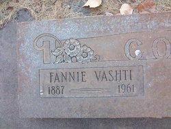Fannie Vashti <i>Oliver</i> Cox