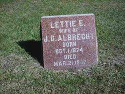 Lettie E Albrecht