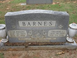 Elsie Pauline <i>Etter</i> Barnes