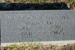 Walton Nathaniel Johnson