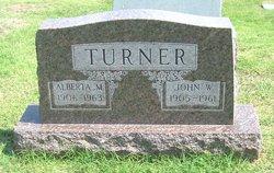Alberta M <i>Lemasters</i> Turner