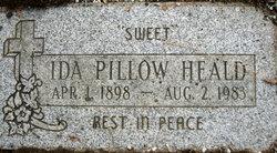 Ida Leona <i>Pillow</i> Heald