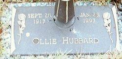 Ollie <i>Johnson</i> Hubbard