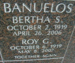 Bertha S Banuelos