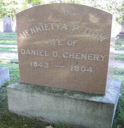 Henrietta P. <i>Dow</i> Chenery