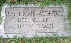 Laura Ruth <i>Kime</i> Aldridge