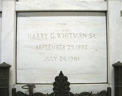Harry G. Whitman, Sr