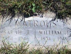 Sarah Jane <i>Hathaway</i> Watrous