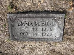 Emma M Burd
