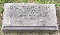 Emily Willard Pitney
