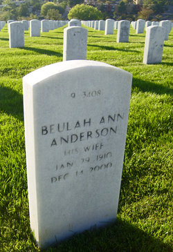 Beulah Ann <i>Rowe</i> Anderson