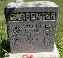 Harriet Hattie <i>Dowd</i> Carpenter