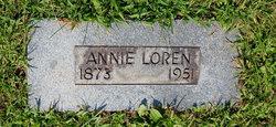 Louanna Annie <i>Basham</i> Loren