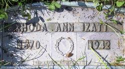 Rhoda Ann <i>Turner</i> Izatt