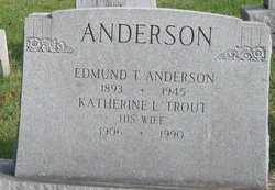 Katherine L <i>Trout</i> Anderson