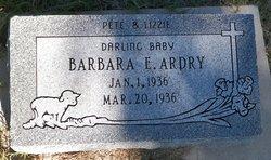 Barbara E Ardry