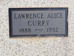 Lawrence Alice <i>Stall</i> Curry