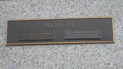 Sue Anne <i>Marion</i> Beach