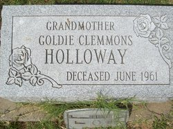 Goldie <i>Clemmons</i> Holloway