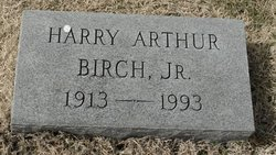Harry Arthur Birch, Jr