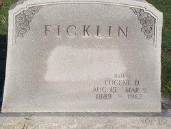Eugene Dallas Ficklin