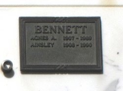 Agnes A <i>Lauderback</i> Bennett