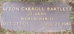 Afton Carroll Bartlett