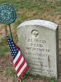 Ens Alfred Reed Worthen