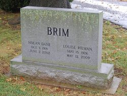 Louise Rieman <i>Stover</i> Brim
